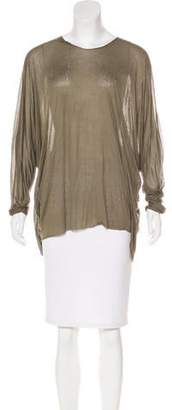Yigal Azrouel Distressed Knit Top