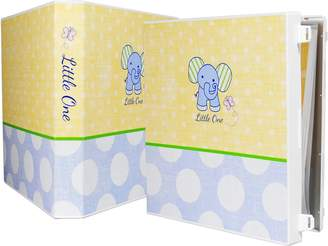 UniKeep Baby Boy Memory Book - Elephant