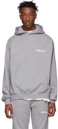 Essentials Grey Pullover Hoodie