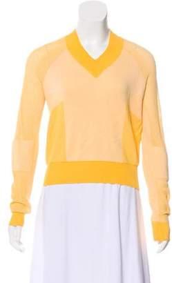 MM6 MAISON MARGIELA Knit V-Neck Sweater