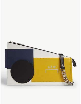 A-Cold-Wall* Corbusier Shapes leather clutch