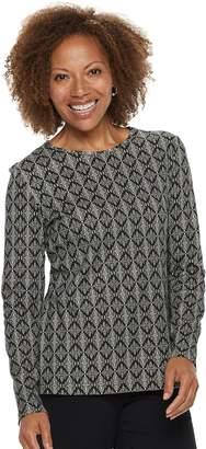 Croft & Barrow Petite Essential Crewneck Sweater