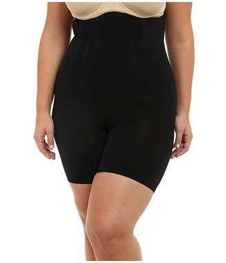 Spanx Plus Size OnCore High-Waisted Mid-Thigh Short