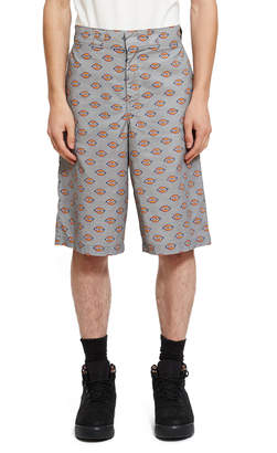 Opening Ceremony Dickies 1922 X All Over Dickies Logo Loose Fit Shorts