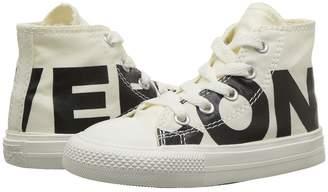 Converse Chuck Taylor All Star Wordmark Hi Kids Shoes