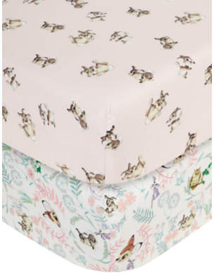 Disney Bambi Cotbed Fitted Sheets