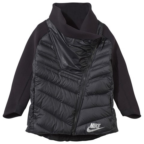 NIKE Black Sportswear Tech Fleece Aeroloft Cape