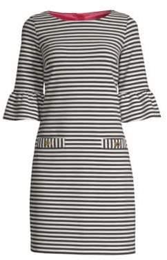 Lilly Pulitzer Alden Bell-Sleeve Stripe Dress