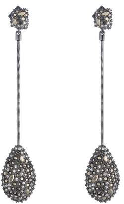 Alexis Bittar Elements Long Teardrop Earrings