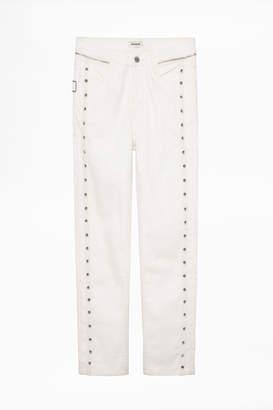 Zadig & Voltaire Elios Spikes Jeans