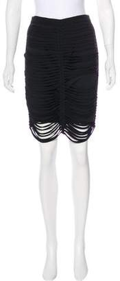Alexander Wang Caged Knee-Length Skirt