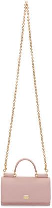 Dolce & Gabbana Pink Mini Von Bag $845 thestylecure.com