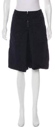 Marni Pleated Knee-Length Shorts
