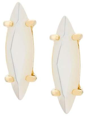 Wouters & Hendrix Technofossils mother of pearl earrings