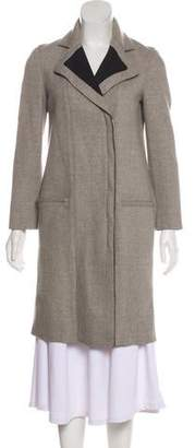 Helmut Lang Wool Knee-Length Coat