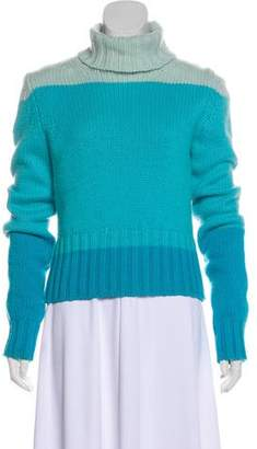 Celine Cashmere Colorblock Sweater