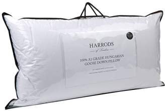 Harrods 100% A1 Grade Hungarian Goose Down King Size Pillow