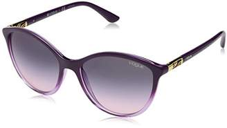 Vogue Women's 0vo5165s Non-Polarized Iridium Cateye Sunglasses