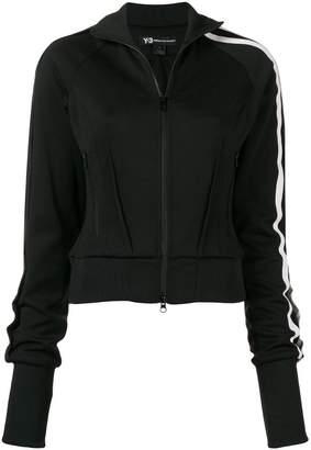 Y-3 zip-front sports jacket