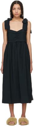 See by Chloe Black Tie Shoulder Dress