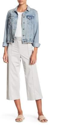 Veronica Beard Cheyenne Wide Leg Crop Pants
