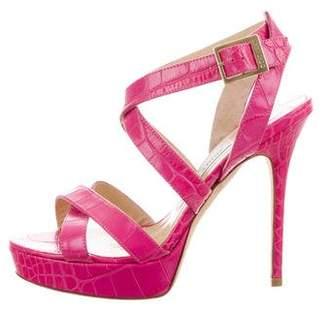 Jimmy Choo Vamp Platform Sandals