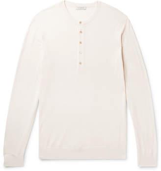 P. Johnson Merino Wool Henley T-Shirt