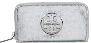 Tory Burch Tory Burch Metallic Continental Wallet