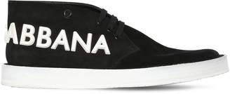 Dolce & Gabbana Agrigento Suede Lace-Up Shoes