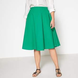 8801e4052e9 CASTALUNA PLUS SIZE Plain Midi Flared Skirt