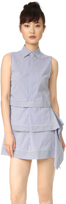 DSQUARED2 Sleeveless Dress $655 thestylecure.com