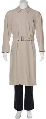 Hermes Wool Belted Trench Coat