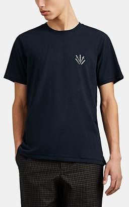 Rag & Bone Men's Dagger-Print Slub Cotton T-Shirt - Navy