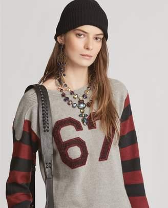 Ralph Lauren 67 Linen-Cashmere Sweater