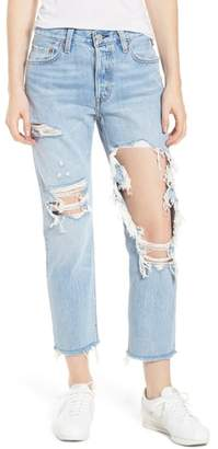 Levi's 501(TM) Ripped Crop Skinny Jeans
