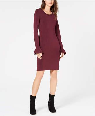 Michael Kors Flared-Sleeve Sheath Dress