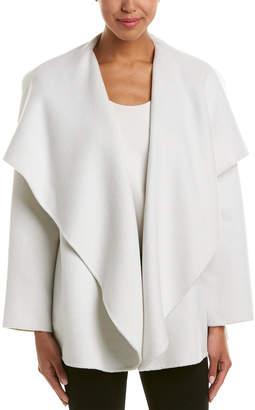 St. John Wool & Angora-Blend Coat
