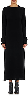 Helmut Lang Women's Cashmere Sweaterdress-BLACK $695 thestylecure.com