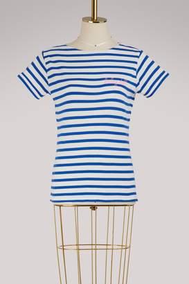 Maison Labiche Baby doll striped cotton shirt