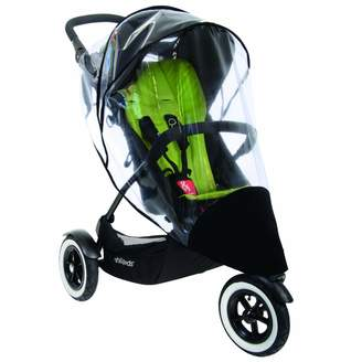 Phil & Teds Phil & Ted's Stormy Weather Cover for Single Dot Stroller
