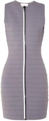 Christopher Kane Zip-through bandage mini dress