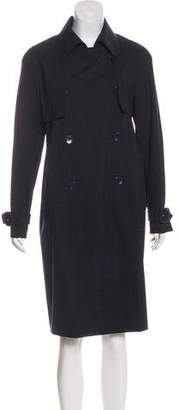 Etro Wool Trench Coat
