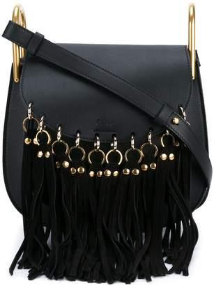 Chloé small fringed Hudson shoulder bag