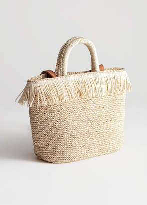 And other stories Fringe Woven Tote