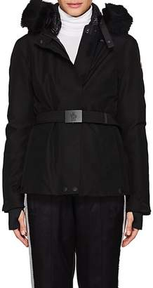 Moncler Women's Laplance Fur-Trimmed Down Coat