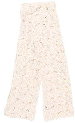 Max Mara Weekend Wool Knit Scarf