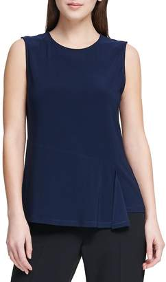 Donna Karan Women's Sleeveless Draped Top
