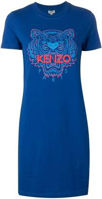 Kenzo Tiger logo T-shirt dress
