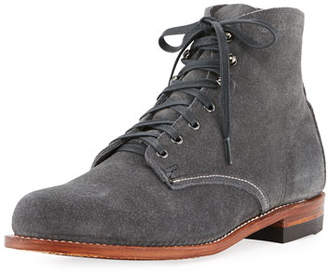 Wolverine Original 1000 Mile Suede Boot, Gray