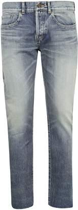 Saint Laurent Bandana Jeans